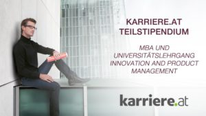 karriere.at-Stipendien für Innovation und Produktmanagement