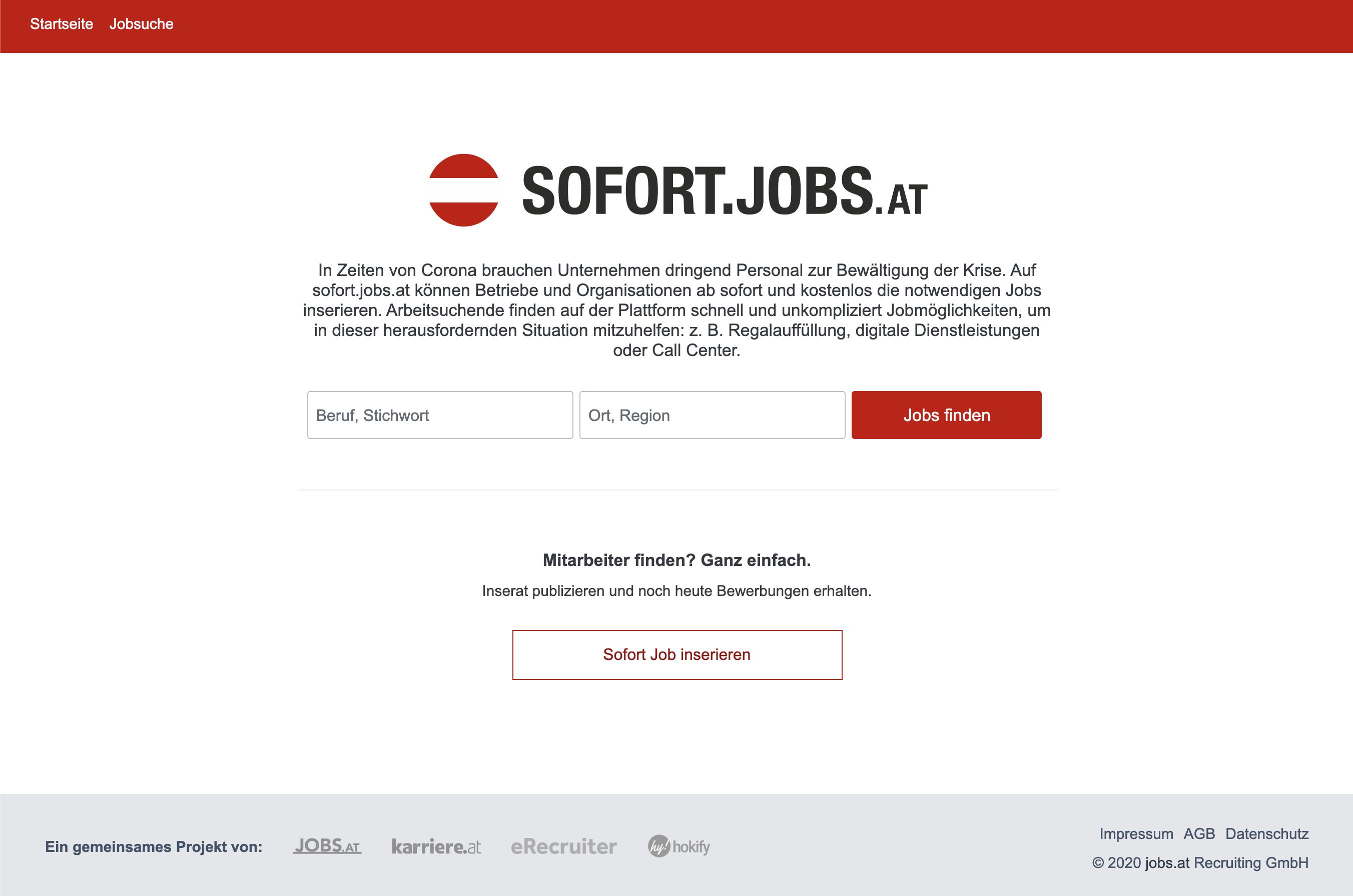sofort.jobs.at
