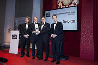 Gewinn des M&A Awards in London.