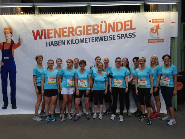 "Vinzenz Gruppe beim ""Business Run 2015"""