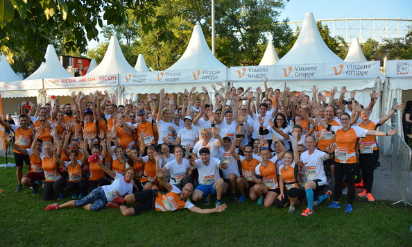 Vinzenz Gruppe beim Wien Energie Business Run