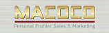 MACOCO Personal Profiler Sales & Marketing