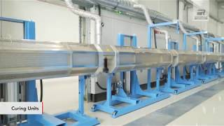 Silicone Cable Production Line from Rosendahl