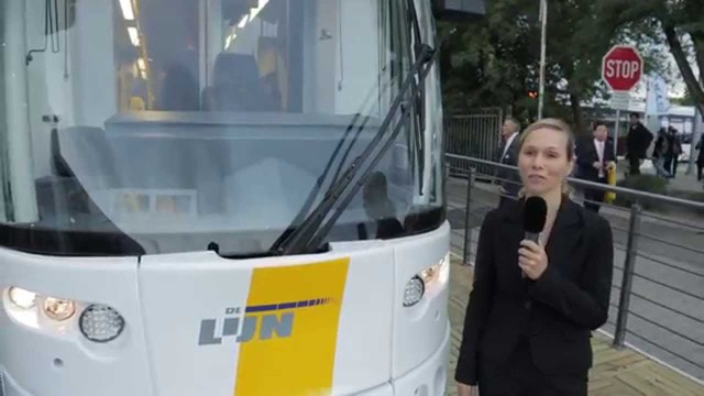 InnoTrans 2014 - FLEXITY 2 tram